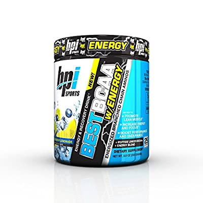 BPI Sports Best BCAA w/ Energy, Blueberry Lemonade, 25 Servings from BPI Sports