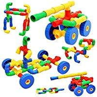 Techno Buzz Deal ® Building Blocks Toy for Kids Colorful Creative Educational Play and Learn Plastic Water Pipe Shaped…