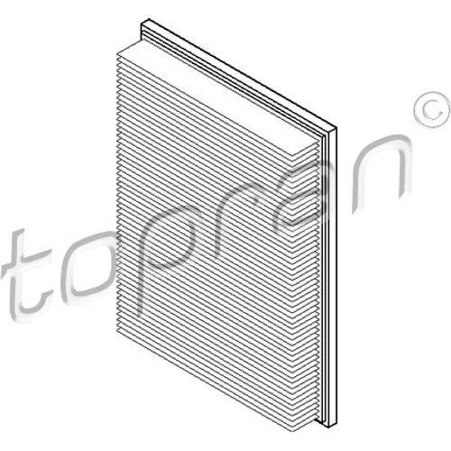 Preisvergleich Produktbild TOPRAN Luftfilter,  207 137