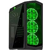 SilverStone SST-PM01C-RGB - Primera ATX Gaming Tower Gehäuse, hochleistungsfähiges Kühlsystem, mit Fenster und RGB LED, matt-schwarz
