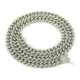 YOLANDE Elegante Collar para Hombre Hip Hop Jewelry Diamantes de...
