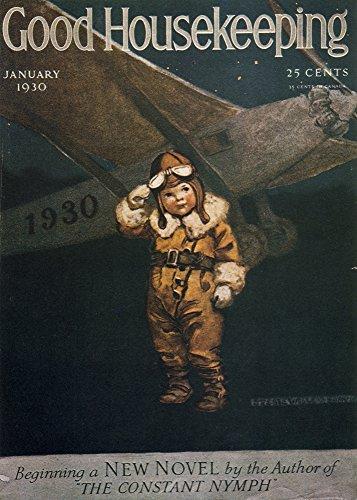 The Poster Corp Jessie Willcox Smith - Good Housekeeping Jan 1930 Aviator Kunstdruck (60,96 x 91,44 cm)