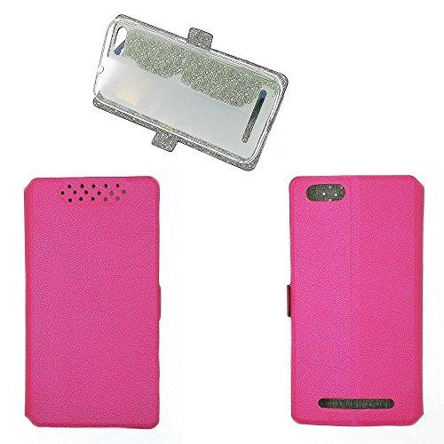 QiongniAN Hülle für GiONEE Elife S Plus hülle Schutzhülle Case Cover Pink