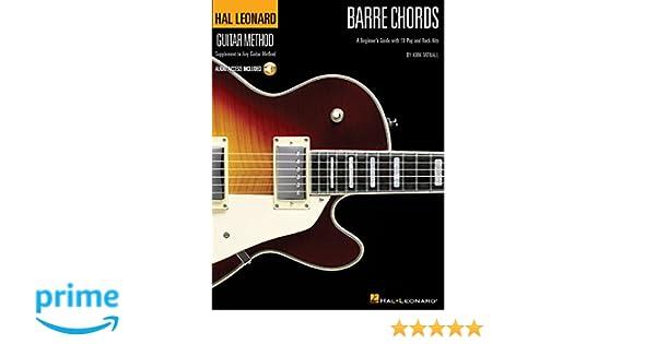 Hal Leonard Guitar Method Barre Chords Beginners Guide Gtr Bkcd Hal
