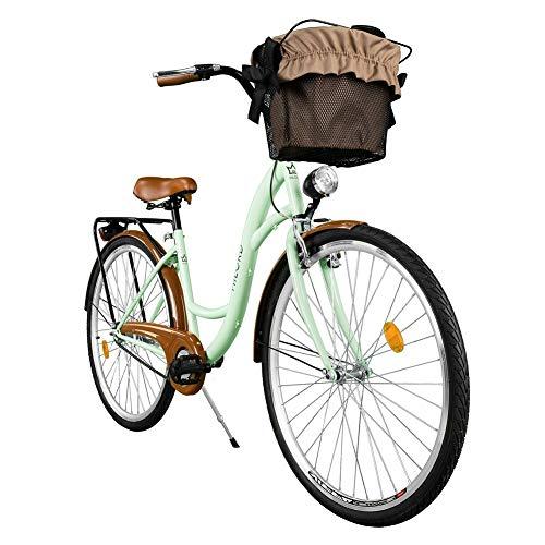 Milord. Komfort Fahrrad mit Korb, Hollandrad, Damenfahr… | 07426854709655