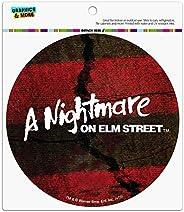 Graphics and More A Nightmare on Elm Street Logo Automotive Car Refrigerator Locker Vinyl Circle Magnet