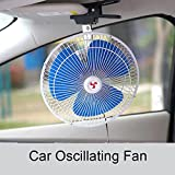 Tocoss(TM) High Quality 6 inch 12V Mini Electric Air Cooling Fan Low Noise