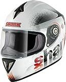 SHARK RSI SPOT weiss/rot/schwarz XS