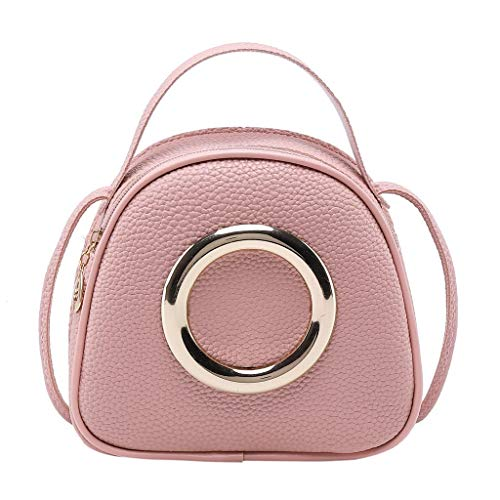 LILIGOD Kleine Handtasche Litschi Kleine Handtasche Damen Eine Schulter Tasche Small Shoulder Purse Handy Phone Messenger Bag Handbag Vintage Glitter Clutch Wedding Evening Tasche Girls -