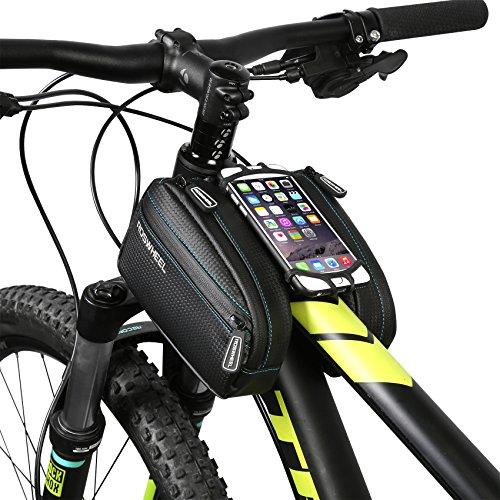 Roswheel Fahrrad Rahmentasche mit Handy Tasche