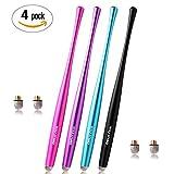 Dimples Excel Slim Taille Stylet Stylus Pen avec Conseils de Fibre 6mm pour Ipad...