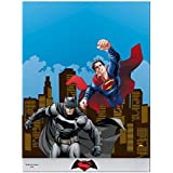 Mantel de plástico de Batman vs Superman, 1,8 m x 1,2 m