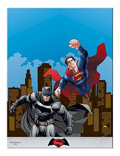 s Kunststoff Batman Vs Superman Tischdecke, 1,8m x 1,2m (Batman Party-ideen)