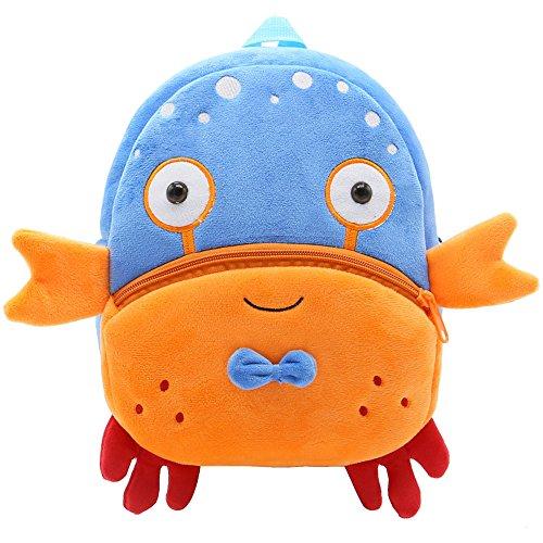 Kinderrucksack für 1-3 jährige im Kindergarten Day.LIN niedlich Cartoon bär Backpack Schultasche Rucksack (A)