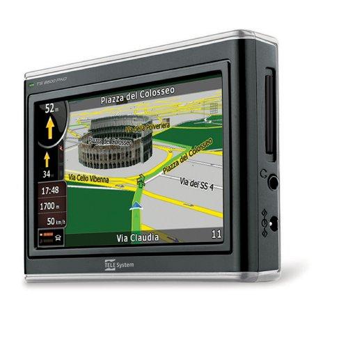 Tele Sistema 4.3Pulgadas GPS con Full 3D Tele Atlas (Mapas Europea con...