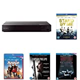 Sony BDP-S6700 Blu-Ray DVD Player with Five Fans Favourites Pack Films Bundle