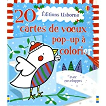 20 CARTES DE VOEUX POP-UP A CO