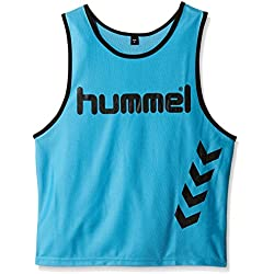 Hummel Fundamental Training - Camiseta de entrenamiento para niños, color neon blue, talla S