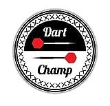 Wandtattoos Wandbilderdart Meisterschaft Sport Abzeichen Pvc Motorrad Fahrzeug Dekoration Aufkleber Auto Aufkleber 13 Cm X 13 Cm