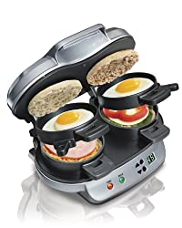 Hamilton Beach 25490A Dual Breakfast Sandwich Maker by Hamilton Beach