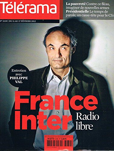 Telerama N°3239 11 Fev 2011 :France inter radio libre par collectif