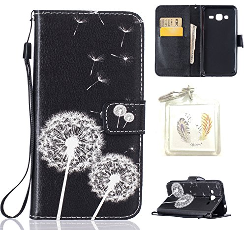 Preisvergleich Produktbild für Galaxy J3 (2016) PU Silikon Schutzhülle Handyhülle Painted pc case cover hülle Handy-Fall-Haut Shell Abdeckungen für Smartphone Samsung Galaxy J3 (2016) 5,0 Zoll) + Schlüsselanhänger (A7)