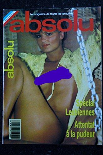 ABSOLU 16 N° 16 1991 / 4° T SPECIAL LESBIENNES FABIENNE A l'Hotel La Douche Le Sauna La danse En groupe Au Tennis par Les Trésors d Emmanuelle