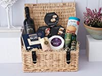 Cheese & Pate Hamper - Luxury White Logo Carton from Fine Scottish Hampers