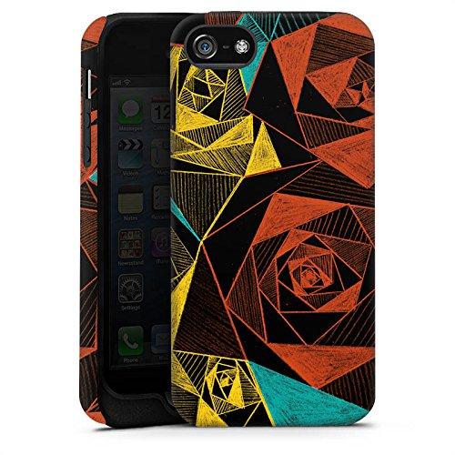 Apple iPhone X Silikon Hülle Case Schutzhülle Rosen Muster Rose Tough Case matt