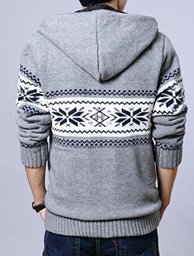 MatchLife -  Cappotto  - Uomo Style3-Grey-Fleece