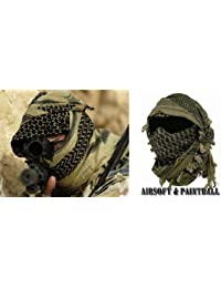 Miltec Shemagh keffieh Cheche US Army, Palestinian Bandanna, Airsoft Paintball Outdoor