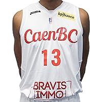 CBC Caen Cbcmaildom Maillot de Basketball Homme