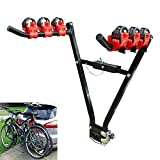 3 Fahrräder Fahrradträger V-Rack-AHK-Berg-Auto-hintere Anhängerkupplung Kugelstange New