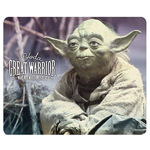 Preisvergleich Produktbild Star Wars - Mausmatte Mauspad - Meister Yoda - Episode 5 - 23 x 19 cm