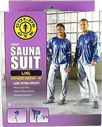 Gold's Gym Sauna Suit Fits Waist Sizes L/LX - 36