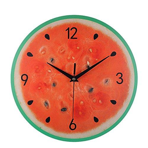 Uhren Silent Sweep Moderne Elegante Frucht Kreative Digitale Uhr Dekoration Geschenk hausgarten küche zubehör Uhren Alarm elektronische