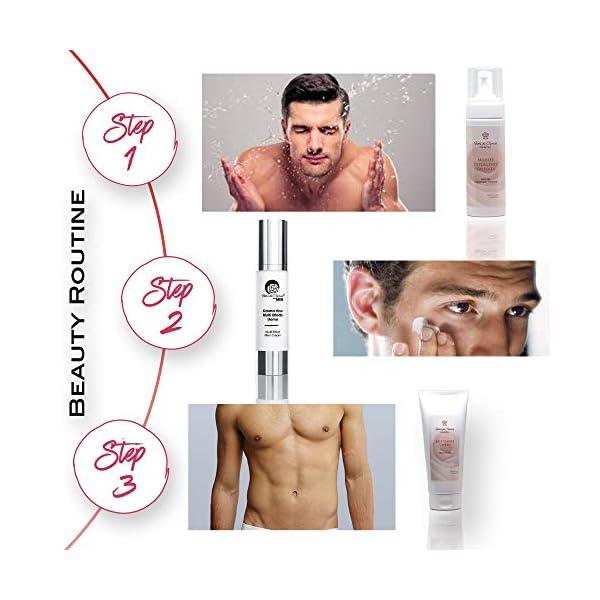 Crema Anti-Arrugas Para Hombre – Ácido Hialurónico Y Células Madre Previenen La Pérdida De La Firmeza De La Piel Y La Mantiene Flexible Y Tonificada – 50 ml