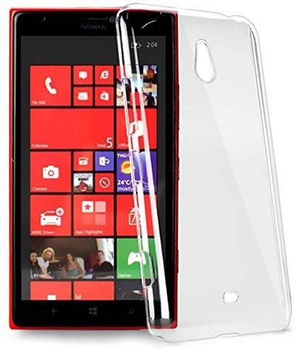 KPH MOBILES Ultra Thin 0.3mm Clear Transparent Flexible Soft TPU Slim Back Case Cover For Microsoft Lumia 540  available at amazon for Rs.100