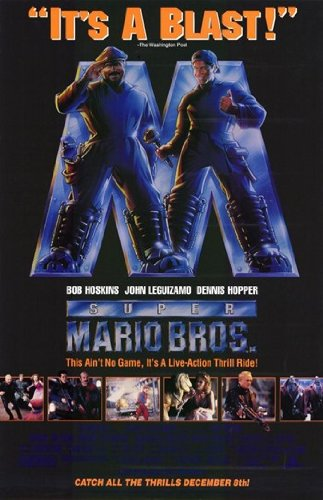 Super Mario Bros Movie Poster (27,94 x 43,18 cm)