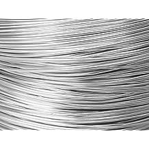 10 Mètres fil aluminium argent 1mm Oasis
