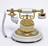 PLYY Antike Antike Vintage Telefon Antik Telefon Drehscheibe Rotary Vintage Festnetz