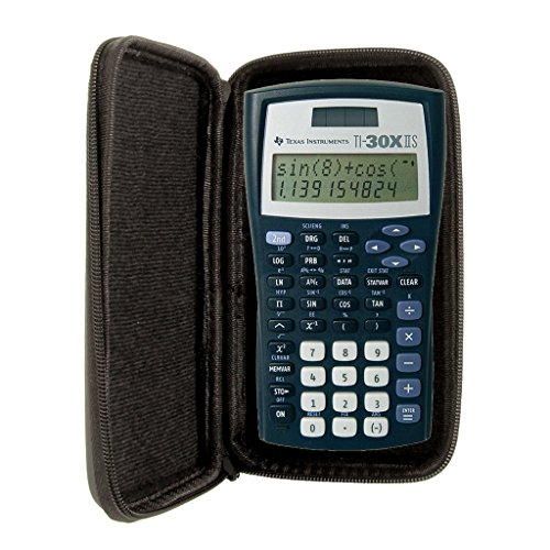 SafeCase Schutztasche für Taschenrechner von Texas Instruments, für Modell: TI 30 XIIS