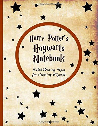 Harry Potter's Hogwart's Notebook: Ruled Writing Paper for Aspiring Wizards