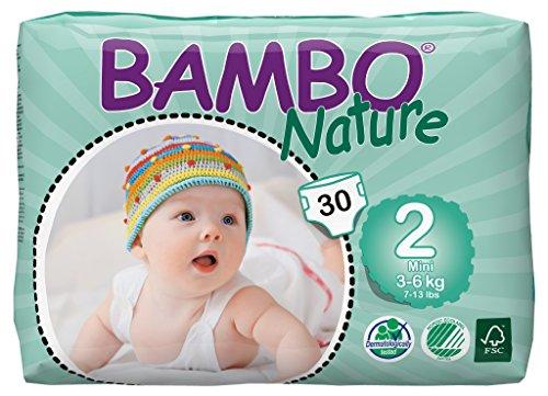 Pañales Bambo - Pañal Bambo mini 3-6Kg, 30ud