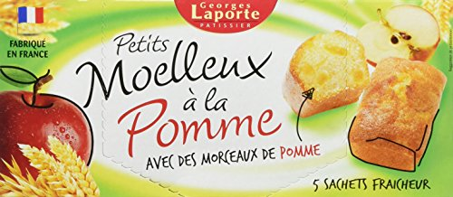 Georges Laporte Pâtissier Petits Moelleux à la Pomme