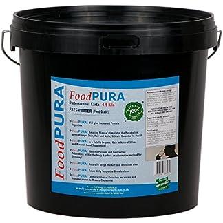 FoodPURA® 4.5KG CODEX Food Grade Human Diatomaceous Earth DE FREE P&P Pure Food Grade DE Bucket 9