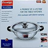 Best Steel Cookware - Prestige Platina Stainless Steel Kadai 220 mm Review