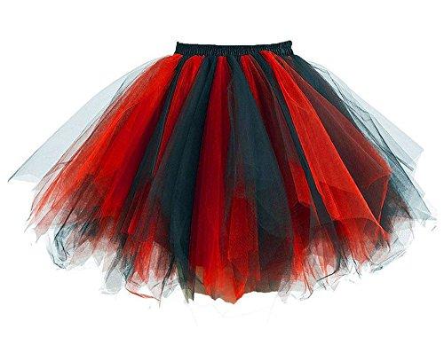 Hot Queen Damen Kleid Gr. Small, schwarz / (Tutu Up Schwarz Light)