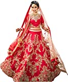 #7: ShreeBalaji Creation Women's Taffeta Silk Dress Material (Sbl-Loy-01-12_Multicolor_Free Size)