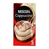 #10: Nescafe Classic Coffee Powder, Cappuchino (5 sachets) 20g = 100g